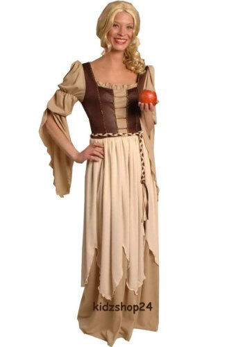 Körner 31 250541 05 Kostüm Kleid Magd Mittelalter Gothic Larp, Gr. 40 42