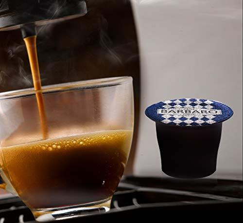 CAFFE' BARBARO Napoli Super Cremoso Nespresso Compatibile 100 pezzi