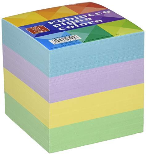 Pigna 111961 Cubo Appunti Collato, 9 x 9 X 9 cm, multicolore