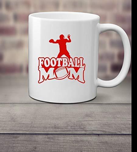 FOOTBALL MOM coffee mug, 11oz or 15oz mug