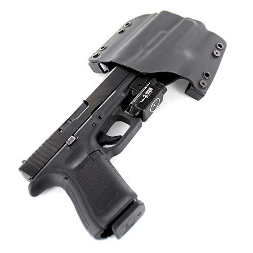 OWB Holster - OLIGHT PL-Mini 2 Valkyrie 600 Lumen - Black (Right-Hand, Glock 19,23,32)