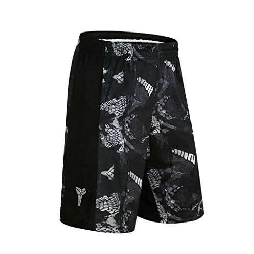 Amazing Deal ANJUNIE Men's Summer Print Trunks Loose-Fitting Short Pant Sports Five-Cent Trousers(1-...