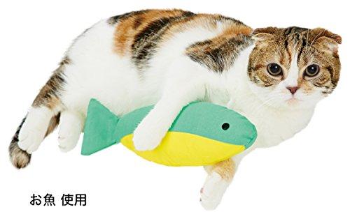 ペティオ(Petio)猫用おもちゃねこあつめけりぐるみグリーン(お魚)