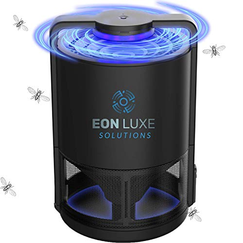 Eon Luxe Solutions Fruit Fly Trap - Gnats, Drain Flies, Mosquito, Insect Killer - Indoor Kitchen Bug...