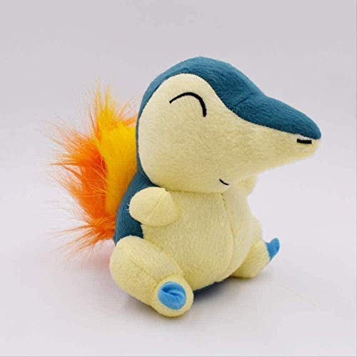 HNTOY New Cartoon Anime Cyndaquil Soft Stuffed Plush Peluche Toy Animal Doll Gift for Children Hot Toys 15cm Gift