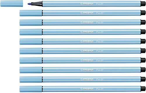 Pen Stabilo 68 azuurblauw