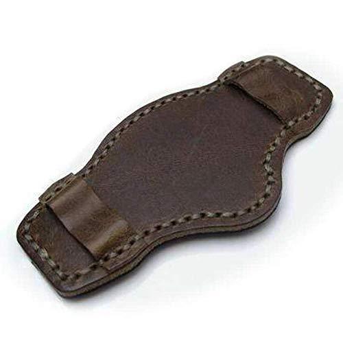 Strapcode Douglas Green Pull Up Leather BUND Pad per cinturini per orologi...