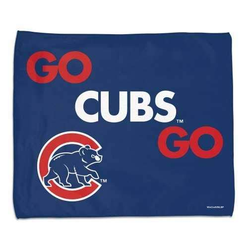 Chicago Cubs 15x18 Rally Towel-Full Color Go Cubs