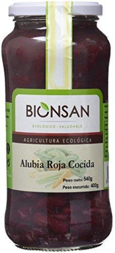 Bionsan Alubia Roja Cocida Ecológica - 4 Botes de 400 gr - Total : 1600 gr