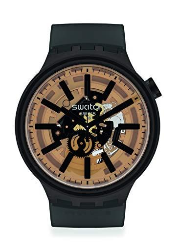 Reloj Swatch Big Bold SO27B115 Dark Taste