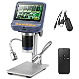 Koolertron 4.3 inch 1080P LCD Digital USB Microscope with 10X - 220X Magnification