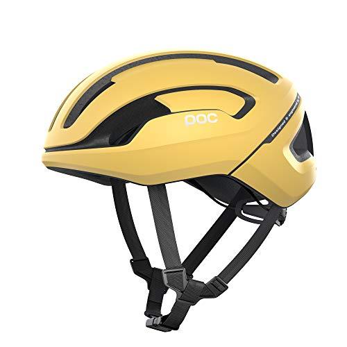 POC Omne Air SPIN - Casco de Bicicleta, Color Amarillo Mate