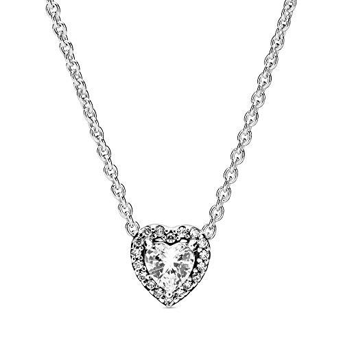 Pandora Women Silver Pendant Necklace 398425C01-45