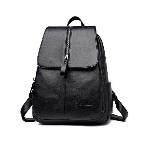 DEERWORD Damen Rucksackhandtaschen Damenhandtaschen Tornistertaschen Henkeltaschen Umhängetaschen Schwarz | Taschen > Handtaschen > Rucksackhandtaschen | DEERWORD