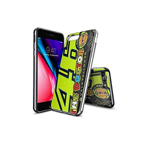 ShuTAO CC iPhone 7 Plus Funda, iPhone 8 Plus Funda, Ultra Slim Cárcasa Silicona Transparente con Dibujos Animados Diseño Patrón Resistente Case Cover para iPhone 7 Plus, iPhone 8 Plus #D 005