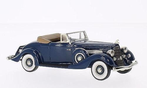 Buick M60 ConGrünible Coupe, dunkelblau, 1934, Modellauto, Fertigmodell, Brooklin 1 43
