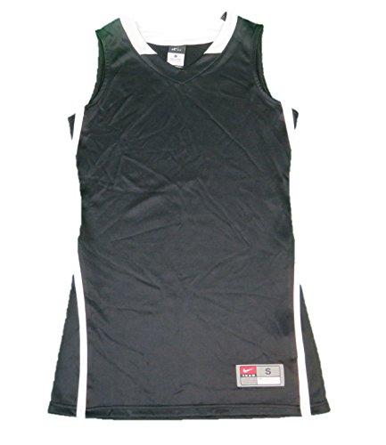Nike Dri Fit Hyper Elite Jersey - Women's Athletic Baseball Sleeveless T-Shirt Black/White