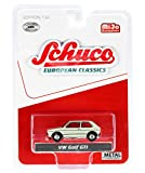 VW Golf GTI Cream European Classics Series Limited Edition to 2,400 Pieces Worldwide 1/64 Diecast Model Car by Schuco 4600