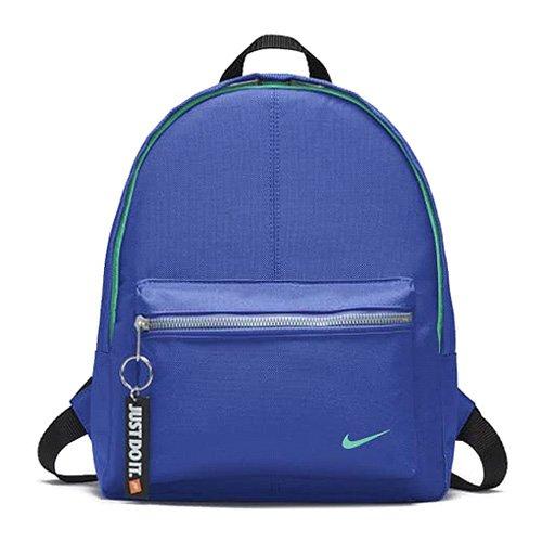 Nike Y Classic Base Mochila, Unisex niños, Azul Racer BLU/Nero/Light Ment, Talla Única