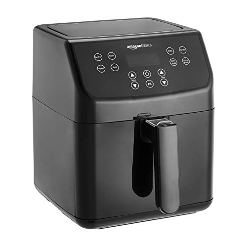 AmazonBasics Air Fryer with Touchscreen Panel (5.5 Litre, 1700 W)