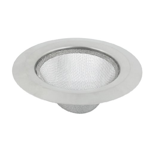 7cm diameter draad gaas grond vloer wastafel afvoer trainer zilver toon