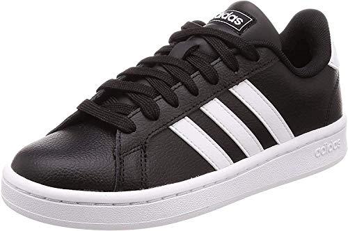 Adidas Grand Court, Scarpe Sportive Mens, Nero (Core Black/Cloud White/Cloud White), 42 2/3 EU