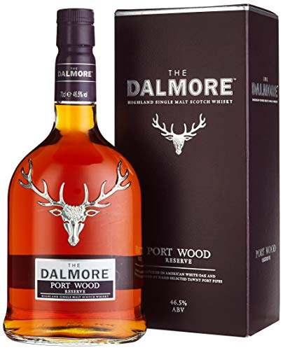 The Dalmore Port Wood Reserve Whisky mit Geschenkverpackung (1 x 0,7l)