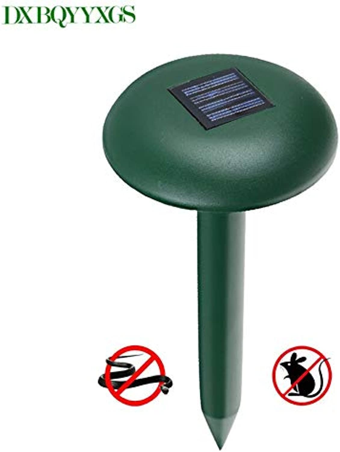 DXBQYYXGS mole Rodent mice Repeller Outdoor Mouse repelente ultrasonico Sonic Ultra Snake Patch from Moles pest Repeller Solar