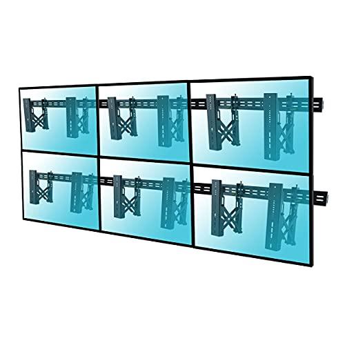 KIMEX 017-2023K - Juego de 6 Soportes de Pared para televisor LCD LED de 37 a 70 Pulgadas