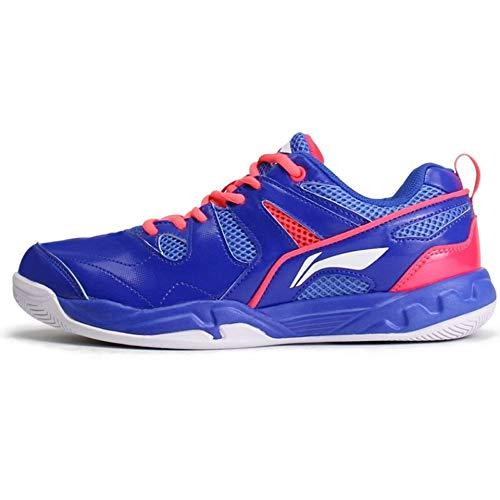 LI-NING Men Badminton Training Sports Shoes Lining Wearable Non Slip Professional Sneakers Blue 10.5