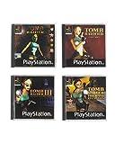 Apparence exacte des premiers jeux PS1 Tomb Raider originaux Collection de 4 soucoupes Longue durée de vie et protection thermique. Dessous antidérapant.