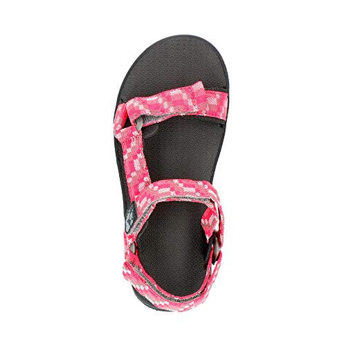 Jack Wolfskin Mädchen Seven Seas 2 Sandal G Sport, Pink (Tropic Pink) - 4