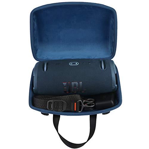 co2CREA Duro Viajar Caja Estuche Funda para JBL Xtreme 3 Altavoz Bluetooth portátil(Caja Solo) (Azul)