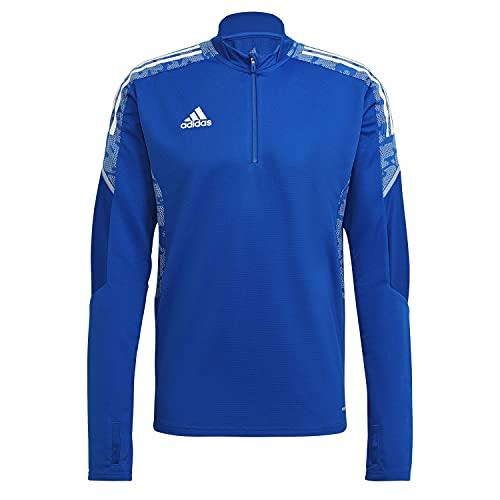 adidas CON21 TR Top Pullover, Mens, Team Royal Blue/White, L