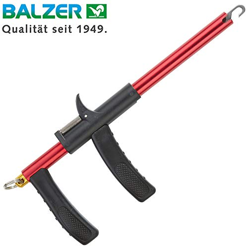 Balzer Shirasu Hakenlöser Pistolengriff L 33cm, Angeltool zum Entfernen von Angelhaken, Hakenentferner zum Spinnangeln & Meeresangeln