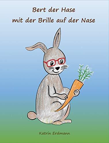 Bert der Hase mit der Brille auf der Nase