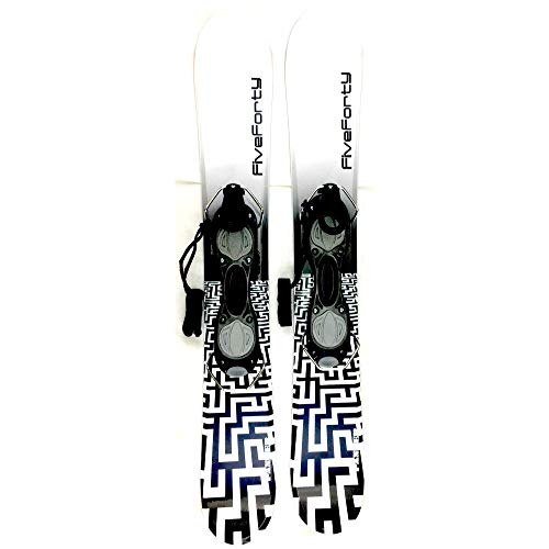 SnowJam Five Forty Panzer WB 75cm Skiboards Snowblades with ski Boot bindings 2020