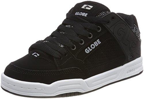 Globe Unisex-Kinder Tilt-Kids Skateboardschuhe, Schwarz (Black Jacquard), 35 EU (3 US)