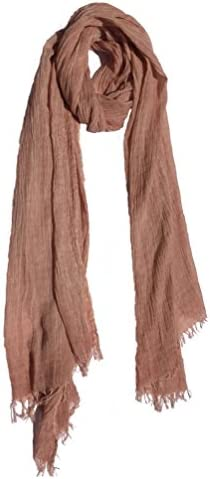 Colby&Co 100% Pure Natural Cotton, No Synthetic Fibers, Non-GMO, Unisex, Scarves - Multi Colors/Styles