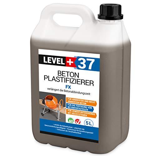 5L Plastifizierer Beton Zusatzmittel Betonverflüssiger Estrich Verzögerer RM37