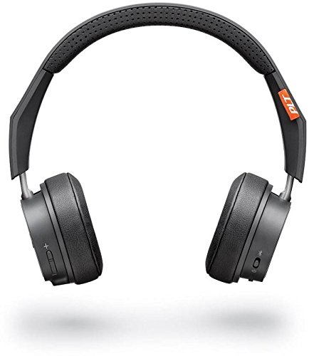 Plantronics Backbeat 505 Bluetooth Headphones Bluetooth Headphones (Dark Grey, Over The Ear)