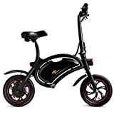Goplus Folding Electric Bike, 350W Lightweight E-Bike, with 12.5 Mile Range/Max Speed Up to 19...