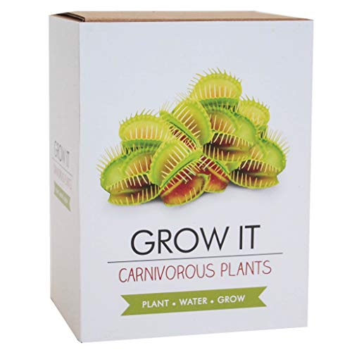 Gift Republic - Grow It, Set da Regalo per Coltivare Piante Carnivore