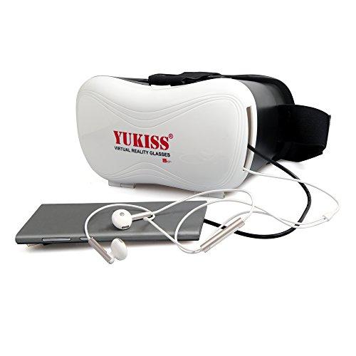 『Yukiss 3D メガネ VR ゴーグル glasses reality 新型5世代目 スーパークリアレンズ採用で3D酔いを大幅改善 焦点・視界距離を調整可能』の8枚目の画像