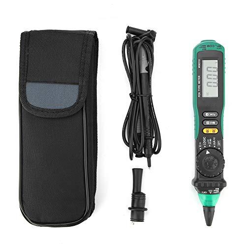 Probador de sonda multímetro MS8211D Probador de resistencia de corriente de voltaje CA/CC Rango automático Tipo de lápiz eléctrico de mano digital para retención de datos para electricista
