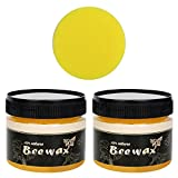 Wood Seasoning Beewax - Traditional Beeswax Polish for Wood & Furniture, All-Purpose Beewax for Wood Cleaner and Polish Wipes - Non Toxic for Furniture to Beautify & Protect (2)