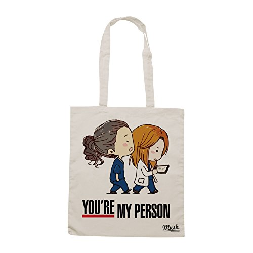 MUSH Borsa YOU ARE MY PERSON - GREY'S ANATOMY - Sand - FILM by Dress Your Style