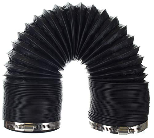 Flexible PVC Laminated Aluminum Dryer Duct - 10 Feet