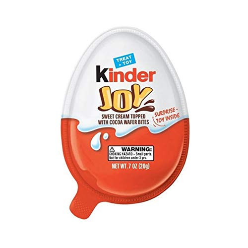 3X-Kinder Joy with Surprise Eggs in Toy /& Chocolate For girls US Seller