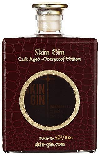 Skin Gin | Handcrafted German Gin | Edition Blanc | Koriander-Grapefruit-Limetten | Manufaktur Gin aus dem Alten Land | 42% 500ML